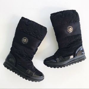 Coach Drexel Quilted Winter Boots